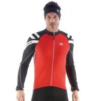 Cyklistický dres GIORDANA T.B. Silverline dlouhý rukáv