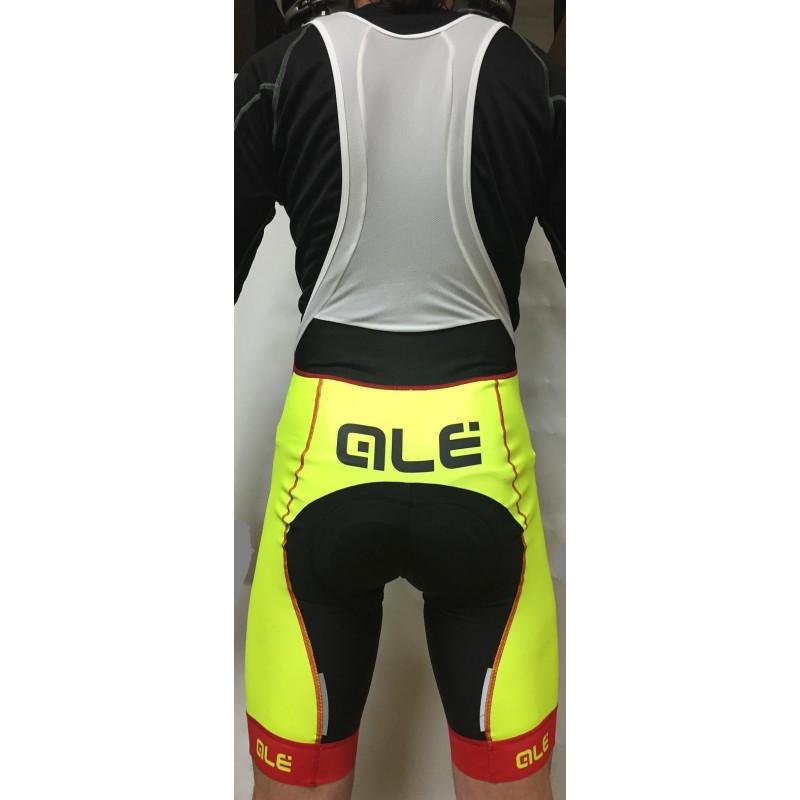 Cyklistické kraťasy ALÉ Ultra BS Bike team - BS BIKE d8a16a76c5