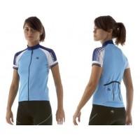 Dámský cyklistický dres GIORDANA Tecnical Blend Silverline Donna