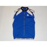 Cyklistický dres GIORDANA Technical Blend Silverline bez rukávů