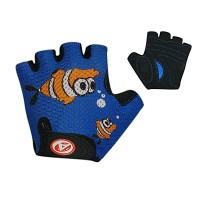 Dětské cyklistické rukavice AUTHOR Junior Fish