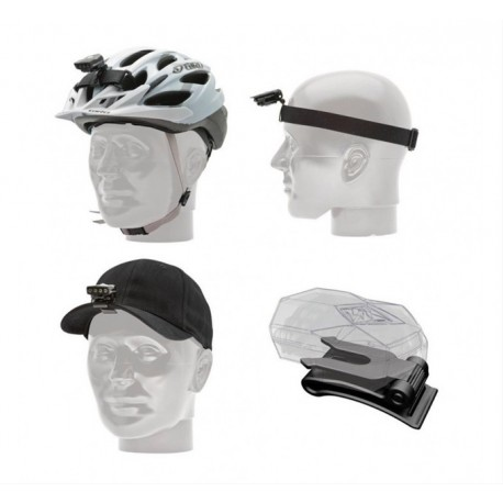 Sada pro světla BLACKBURN Flea Helmet / Head / Hat Mount